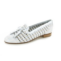 Pertini loafers - espadrilles wit