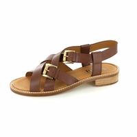 Pertini sandalen donkerbruin