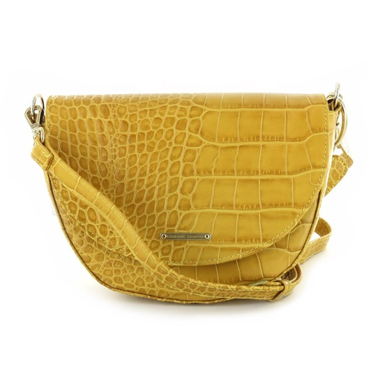 Fabienne Chapot kleine handtassen - avondtassen geel
