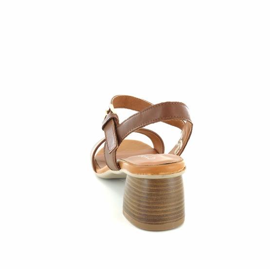Cypres sandalen cognac