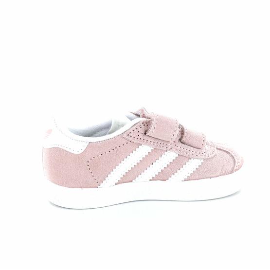 Adidas sneakers velcro roze