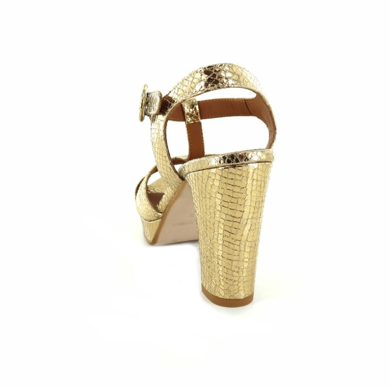 Les Venues sandalen goud