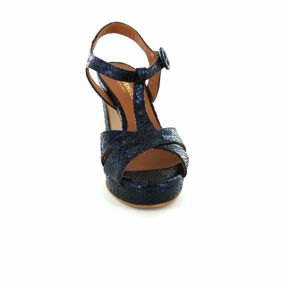 Les Venues sandalen blauw