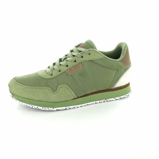 Woden sneakers groen