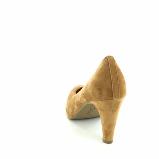 Gabor pumps - ballerina's cognac