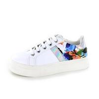 Cypres baskets à lacets blanc