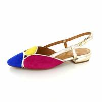 Elena Ricci slingback pumps multicolor