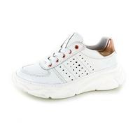 Little David chaussures à lacets blanc