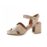 Pink Jungle sandales taupe