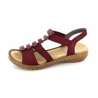 Rieker sandalen rood