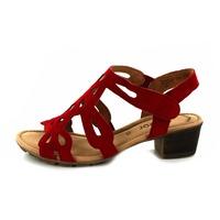Gabor escarpins - ballerines rouge