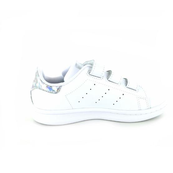 Adidas baskets à velcro blanc