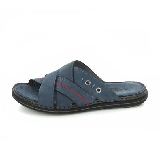 Cypres slippers blauw