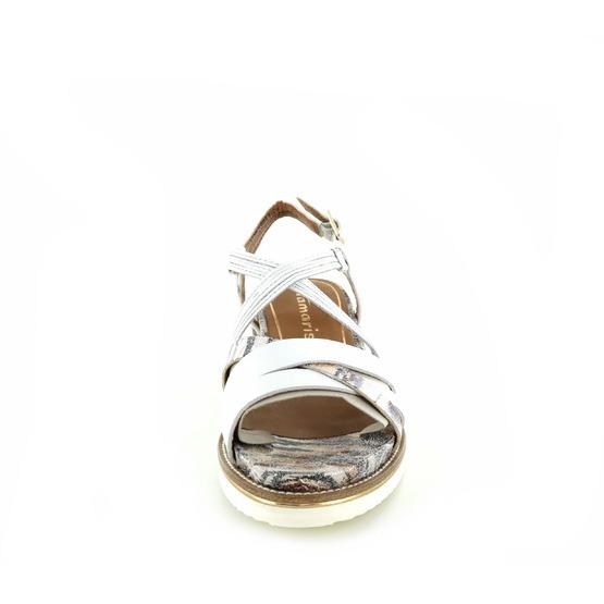 Tamaris sandalen wit