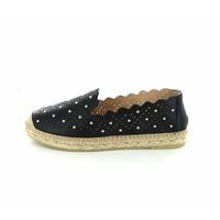 Kanna loafers - espadrilles zwart