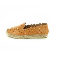 Kanna loafers - espadrilles cognac