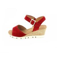 Gabor sandales rouge