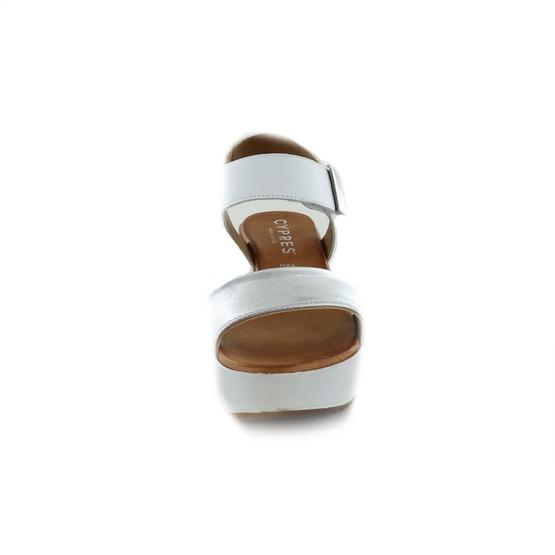Cypres sandalen wit