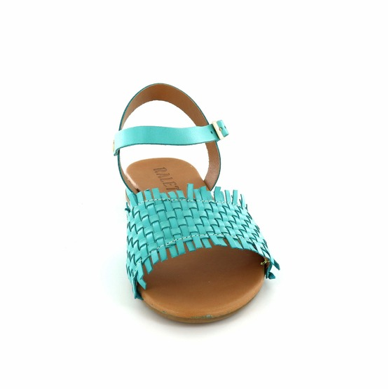 Ralet sandalen turquoise