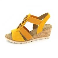Gabor sandales jaune