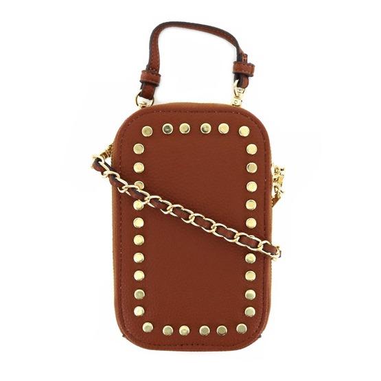 Steve Madden kleine handtassen - avondtassen cognac