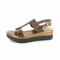 Cypres sandalen brons