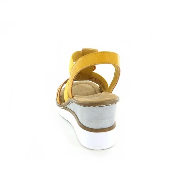 Rieker sandalen geel