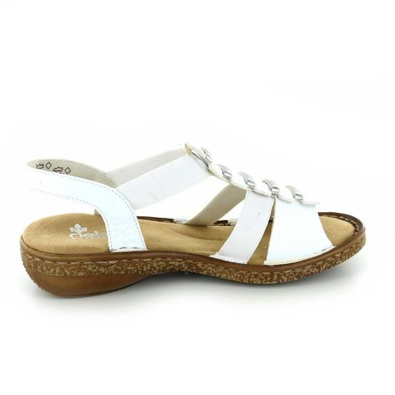 Rieker sandales blanc
