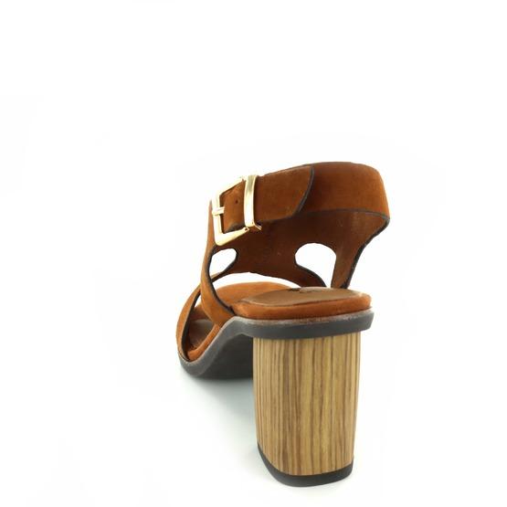 Tamaris sandalen taupe