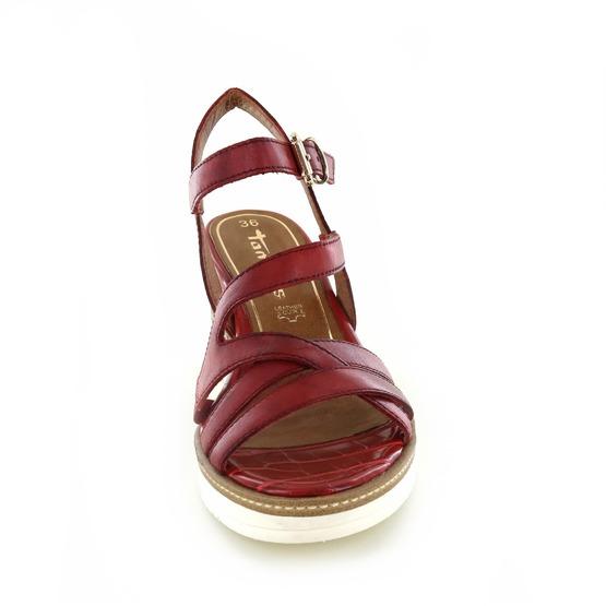 Tamaris sandalen rood
