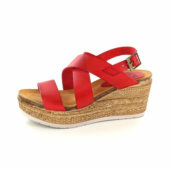 Hee sandalen oranje