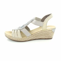 Rieker sandalen taupe