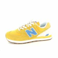 New Balance veterschoenen geel
