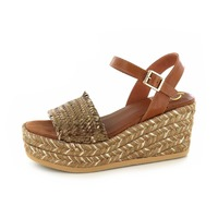 Kanna sandalen brons