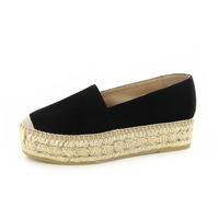 Kanna loafers - espadrilles noir