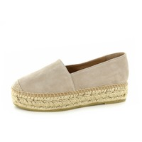 Kanna loafers - espadrilles taupe