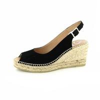 Kanna sandalen zwart
