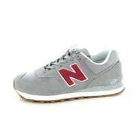 New Balance chaussures à lacets gris