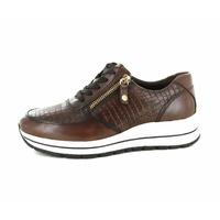Tamaris sneakers donkerbruin
