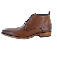 Daniel Kenneth boots cognac