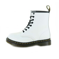 Dr Martens booties blanc