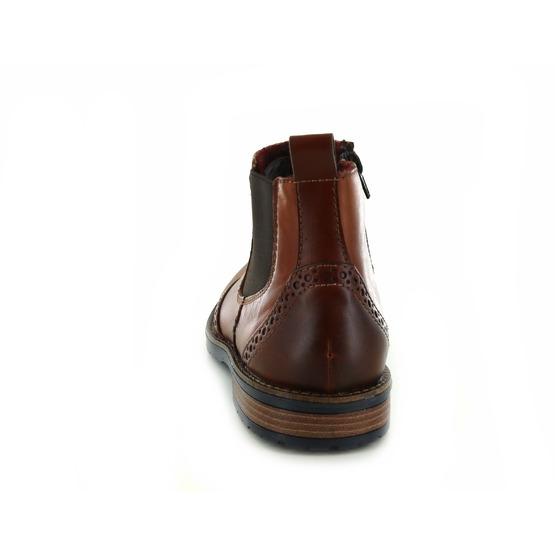 Rieker boots cognac