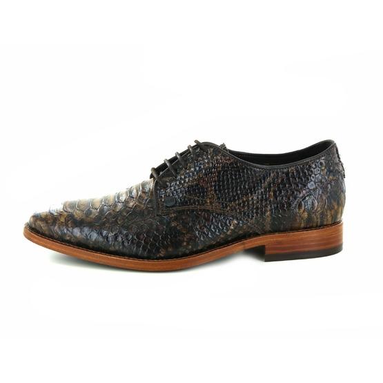 Rehab chaussures à lacets brun foncé