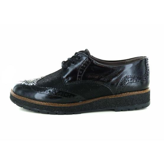 Cypres veterschoenen zwart
