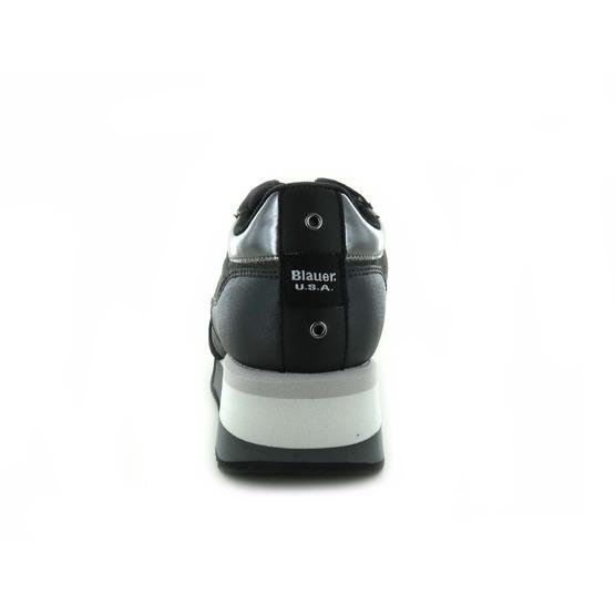 Blauer sneakers zwart