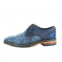 Cypres chaussures à lacets bleu