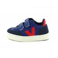 Veja sneakers velcro blauw