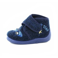 Little David pantoffels blauw