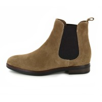 Gioia booties taupe