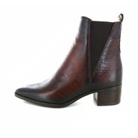 Gioia booties donkerbruin